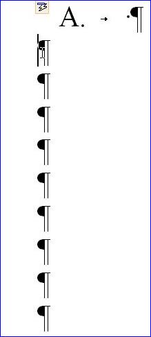 creare-jaloane enumerare verticală dans Trucuri de efect pentru un document perfect